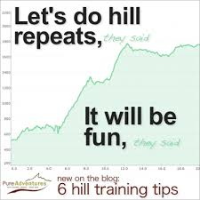 Hill/Fell Training. Every Wednesday in August.
