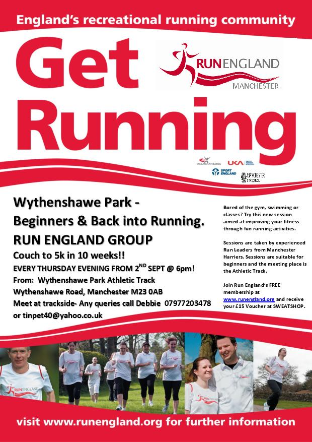 New – Running for Beginners Sessions