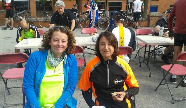 Diane Frost completes 100 mile bike ride for Myeloma UK