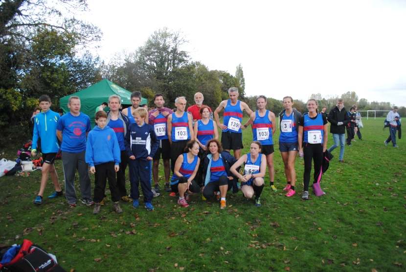 University Cross Country Relay Results