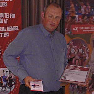 Carl Summers and Beverley Holmes win North West England Athletics Awards