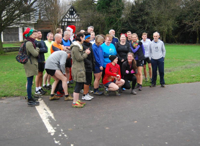 Christmas Handicap Results – 21st December 2014, Wythenshawe Park