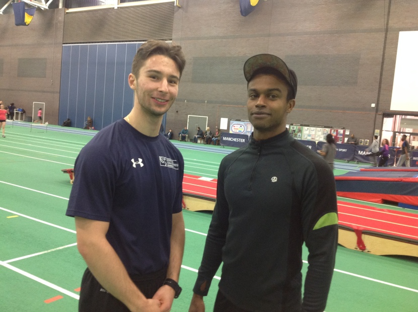 Sale Harriers Indoor Open Meeting – Sun 4th Jan 2015 – Results
