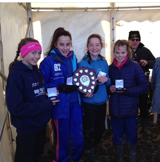 VICTORY FOR THE UNDER 13 GIRLS AT THE NORTHERN CROSS COUNTRY CHAMPIONSHIPS