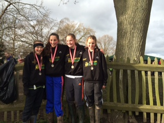 BRONZE FOR THE UNDER 13 GIRLS AT THENATIONALS