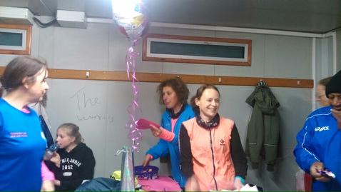 Happy birthday to Debbie at tracktonight